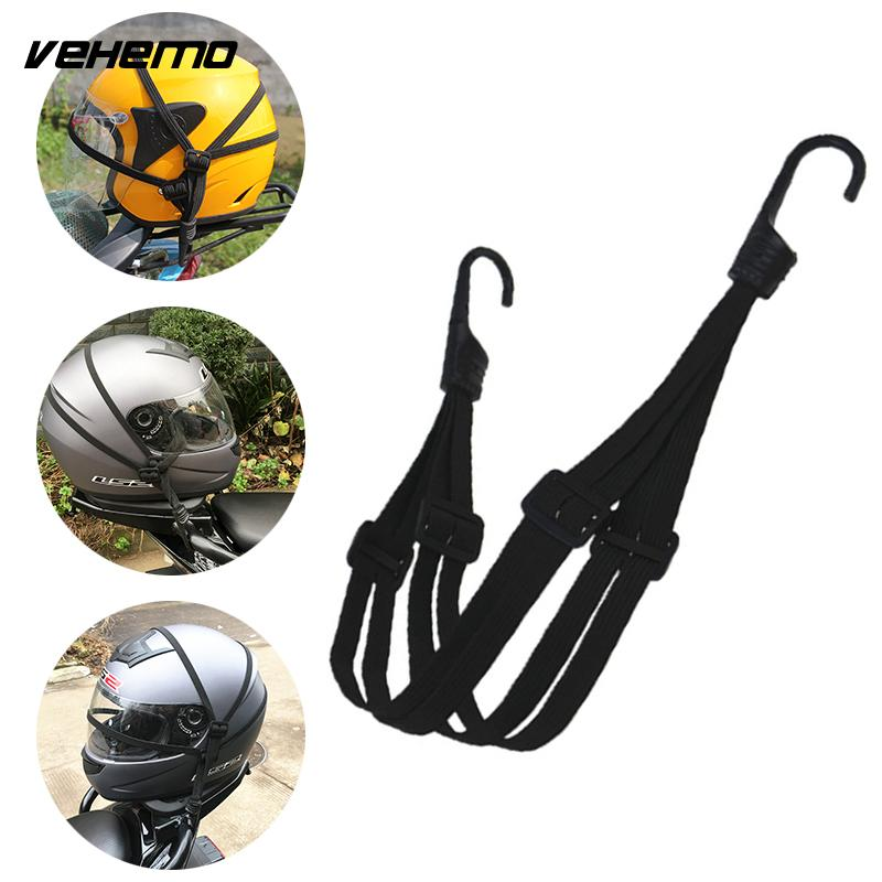 Vehemo Retractable Motorcycle Helmet Storage Fixed Strap Luggage Rope Accessories