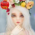 OUENEIFS fairyland FairyLine Rendia bjd sd 1/4 body model reborn baby girls boys dolls eyes High Quality toys shop make up
