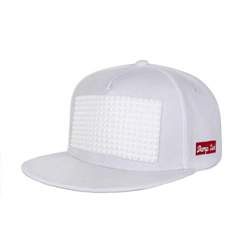 Новый дизайн патч хип-хоп кепка для мужчин и женщин мода хип-хоп кепка Твердые кепки унисекс для женщин кость Регулируемый дропшиппинг