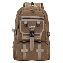 Mylb модный тренд большой емкости ретро плечо рюкзак мужской повседневный холст дорожная сумка рюкзак для мужчин студентов
