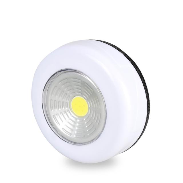 White Round Shaped Wall Light