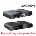 LKV380PRO HDbitT HDMI Extender HDMI Transmitter Receiver 1080p power line transmission DbitT HDMI Extender wireless adapter