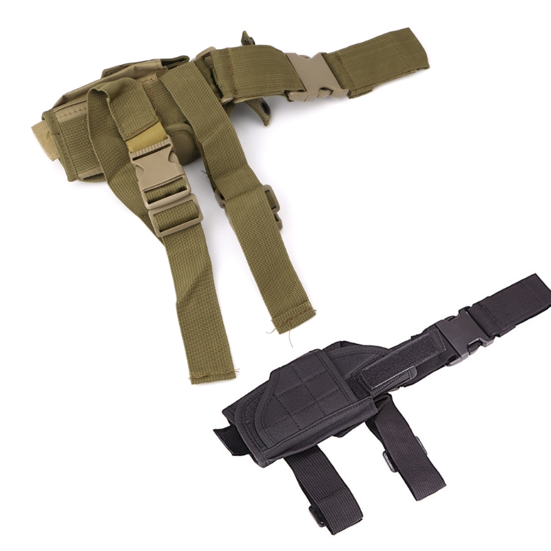 THINKTHENDO  Leg Bags Adjustable Army Pistol Gun Drop Leg Thigh Holster Pouch Holder Belt Bag Travel Bags
