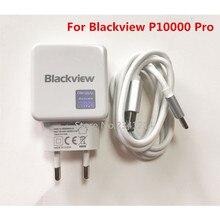 Новинка, адаптер питания USB Blackview P10000 Pro, 5 В/5 А, быстрое зарядное устройство, штепсельная вилка европейского стандарта, импульсный источник питания для путешествий+ usb-кабель, линия передачи данных