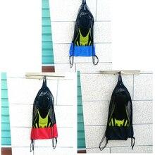 Perfeclan 3 шт напольная сетка хранения вещей мешок на завязках сумка рюкзак Спортивные сумки Сумки для дайвинга для оборудование для плавания и ныряния
