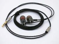 GEVO Handmade DIY IE800 Ceramic Earbuds HiFi In Ear Earphone With Microphone Top Quality Music Headset