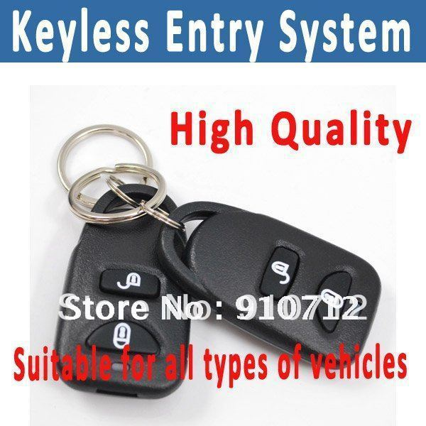 Free Shipping Romote keyless entry system suitable for all types of vehicles