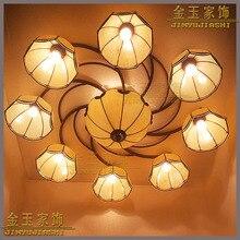 Modernen Europischen Stil Tiffany Decke Beleuchtung Schlafzimmer 9 Grosses Wohnzimmer Esszimmer Glas LampenChina