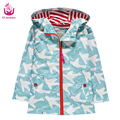 Ucanaan New 2017 Waterproof and windproof girls jacket new printing pigeon style outdoor warm coat fashion