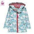Ucanaan Новый 2017 Водонепроницаемая и ветрозащитная куртка для девочек. новые печати pigeon стиль открытый теплое пальто мода