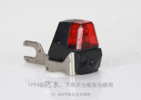 Free Shipping New Hot Sale Bike Cycling Dynamo Lights Set Safety No Batteries Needed Headlight Rear