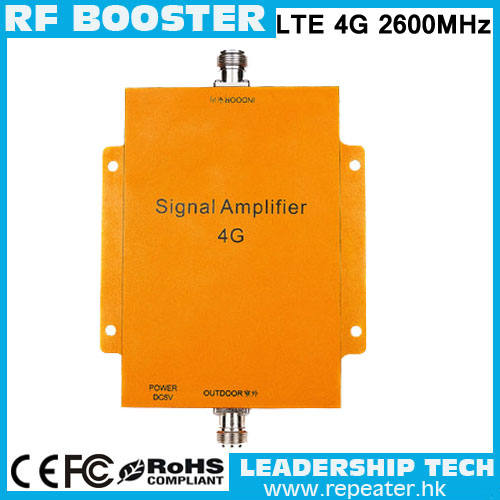 Newest 65dB RF 4G Mobile Signal Booster Repeater 4G Booster 4G Amplifier 2600MHZ Cell Phone Amplifier LTE Phone Signal Extender