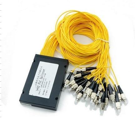 3.0mm Diameter Fiber 1550nm Optical Fiber 1x32 ABS Coupler Splitter Module for PON Networks FC/UPC