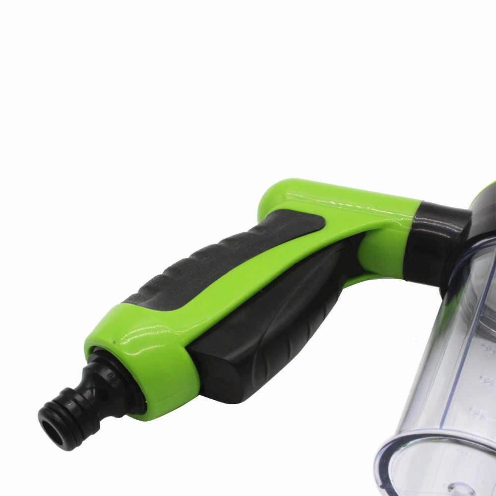 Draagbare Auto Schuimlans Waterpistool Nozzle Jet Auto Wasmachine Spuit Schoonmaken Tool Auto Wassen Gereedschap Spuiten Automatische Machine