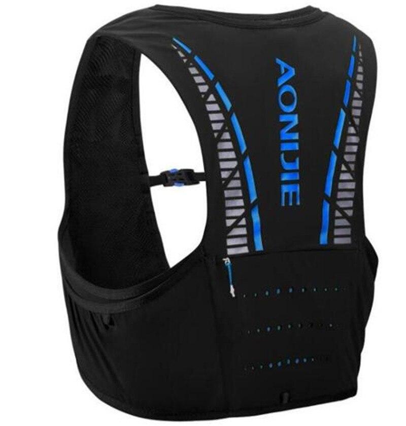 AONIJIE 5L sac à dos d'hydratation sac à dos gilet Marathon cyclisme escalade sac à dos d'eau harnais vessie course à pied - 3