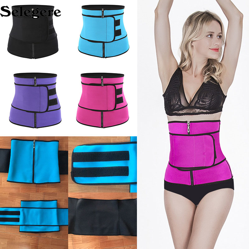 100pcs Body Shaper Slimming Wrap Belt Waist Trainer Cincher Corset Fitness Sweat Belt Girdle Shapewear Women Mens Fajas Sauna