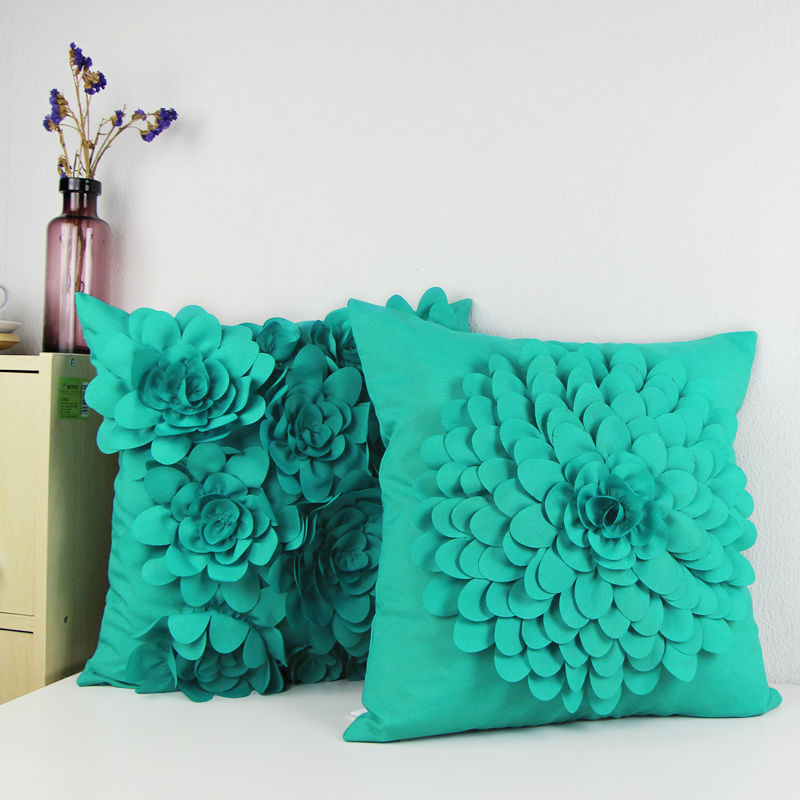 Actual Patterns On The Throw Pillow Cover / Cushion Cover May Differ Due To  Pattern Placement On Original Fabric Layout.