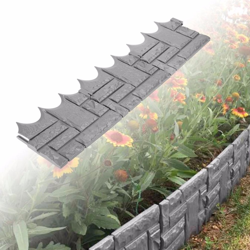 6pcs Outdoor Garden Landscape Fencing