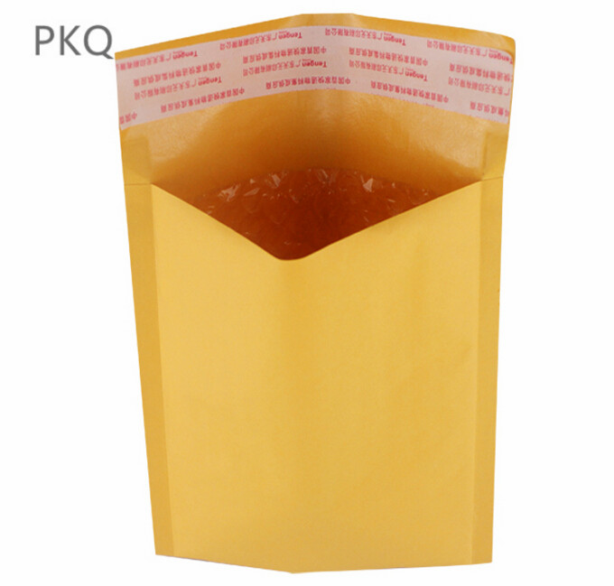 Image 3 - 100pc/lot Thickened Kraft Paper Bubble Envelopes Bags Mailers Padded Shipping Envelope With Bubble Mailing Bag Business SuppliesPaper Envelopes   -