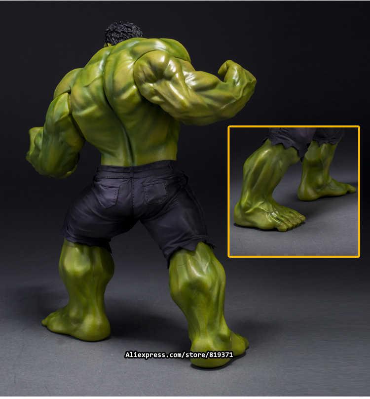 26 см Супер герои Marvel Мстители выберите фильм гнев фигурки Халка игрушки ПВХ смола пластиковая модель Статуя куклы, детские игрушки