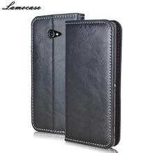 Lamocase для Sony Xperia M2 Case Роскошный кожаный чехол для Sony Xperia M2 D2305 D2306 S50h LTE D2303 откидная крышка со слотом бумажника