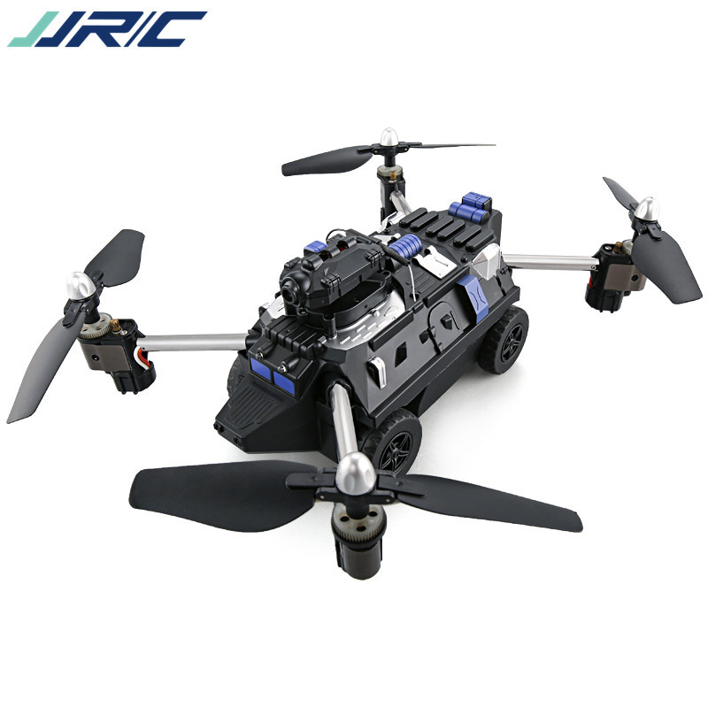 JJRC H40WH WIFI FPV 720P HD Camera Drone 4CH 2.4G Altitude Air Land Mode RC Quadcopter Black Remote Control For IOS Android jjrc h29g 5 8g fpv 2 0mp hd camera headless mode 2 4g 6axis quadcopter