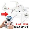 Mjx игрушки X101 новый дизайн RC Quadcopter X101 2.4 ГГц 4CH 6-Axis гироскопа беспилотный может занять Wifi камера C4005 видео сотового телефона