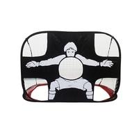 Soccer Training Target Net Children Portable Folding Goal Nets Door Gate Mesh Frame Kids Gift