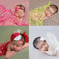 Lovely Newborn Baby Tassel Backdrop Wrap Cloth Photo Photography Prop Outfits