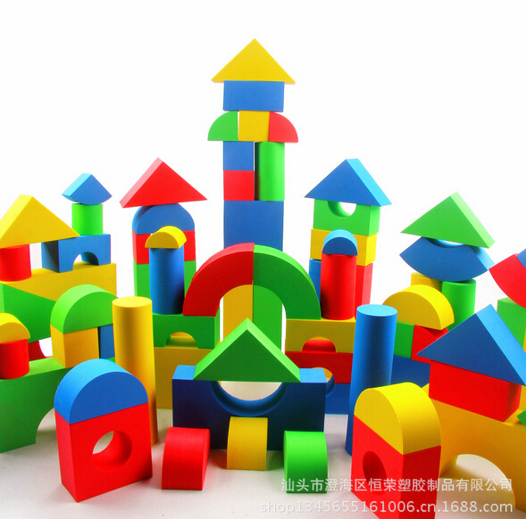 Hot Selling Eva Safe Children Building Brick Block Foam