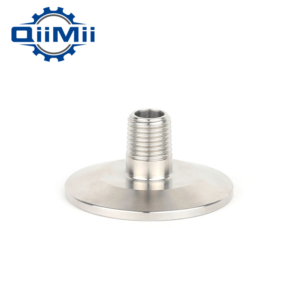 1/4/3/8/1/23/41 Stainless Steel SS304 Sanitary Male Threaded Ferrule OD 50.5mm fit 1.5 Tri Clamp 1pc stainless steel ss304 male x male threaded pipe fitting 200mm bsp 1 4 1 2 3 4 1