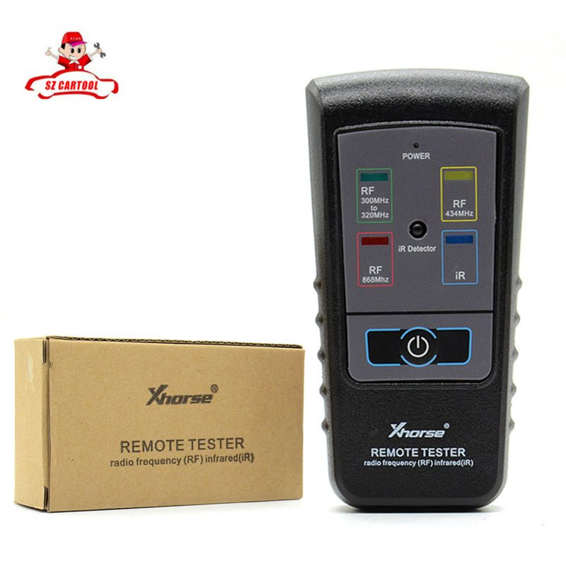 ФОТО XHORSE Remote Tester Radio Drequency(RF) Infrared(IR) for 300Mhz-320hz/ 434Mhz/ 868Mhz Radio Frequency Infrared Remote Tester