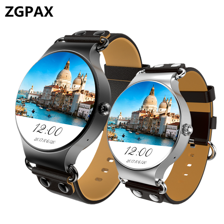 ZK98 Smart Watch Android 5.1 for SIM Card Heart Rate Monitor Fitness Tracker Wrist Watch Cell Phone Smartwatch For ios android nesterov h0957b02 05e
