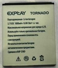 For EXPLAY Tornado Battery Accumulator 1800mAh mAh High Quality explay explay для nokia 6101 n70