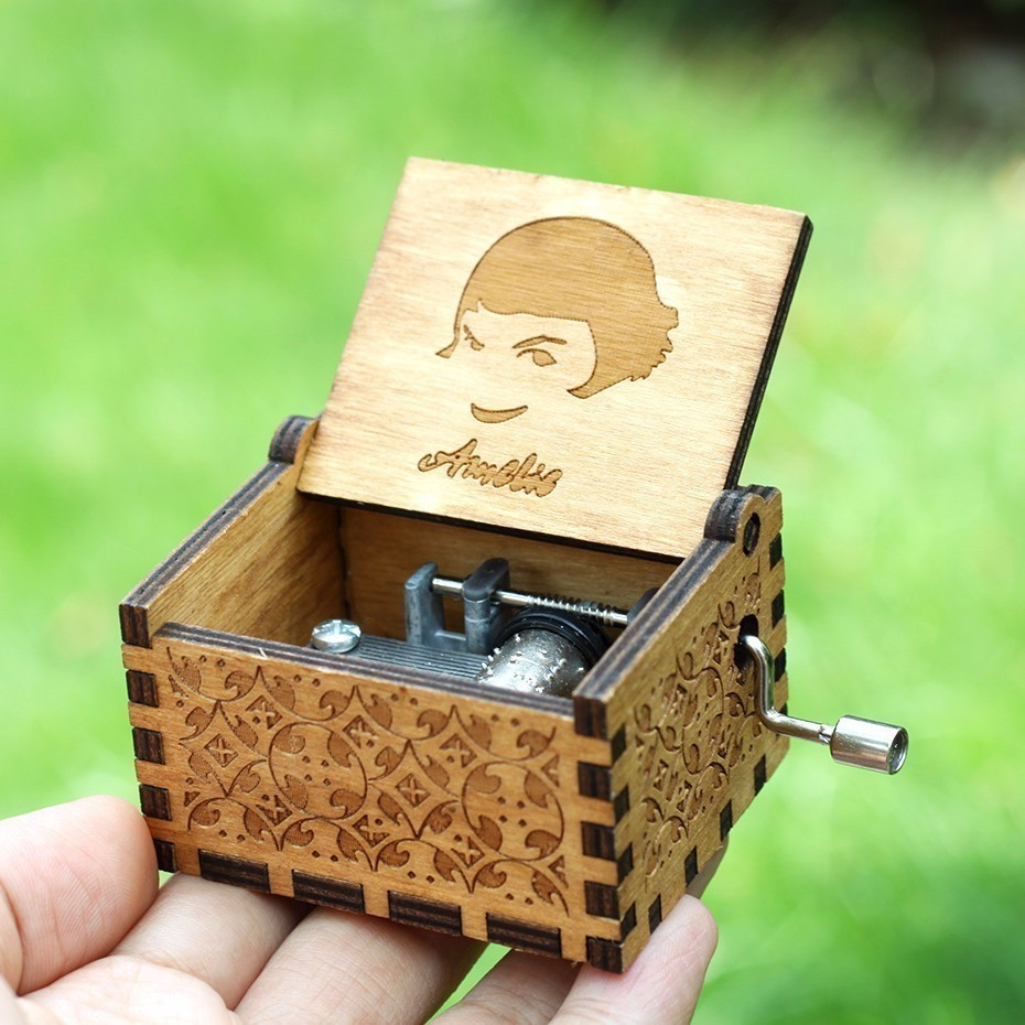 Angels love beauty Music Box Hand Crank Game Of Thrones Harry Potter Star Wars Theme Music A Birthday Present A Christmas Gift