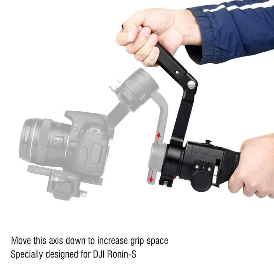 צוואר טבעת הרכבה ידית אחיזה הארכת זרוע עבור רונין-S צג מיקרופון LED וידאו אור לdji ללא מעצורים S מנוף 2 Gimbal