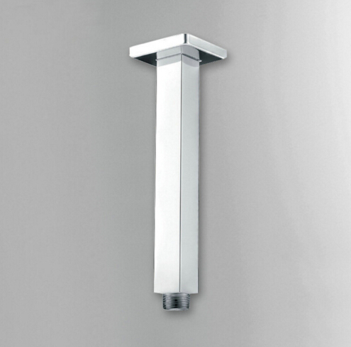 8 Length Square Ceiling Mounted Chrome Polished Rainfall Shower Arm Br Pipe