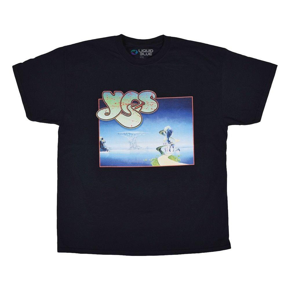 Adult Yes Songs Black T-Shirt - Black Short Sleeve Short Sleeve T shirt Cotton T Shirts top tee