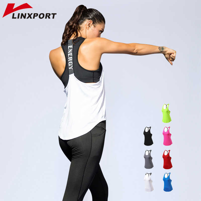 Sexy Women Yoga Vest Backless Gym Singlets Sleeveless Training Shirts Fitness Tights Sport Clothing Sportswear Dry Fit Tank Tops