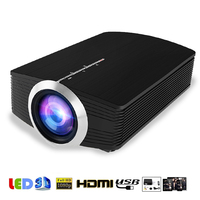 YG500 Mini Projector 1080P home theater 5.1 Portable 1200Lumen LED Projector Home Cinema USB HDMI 3D Beamer Bass Speaker Project