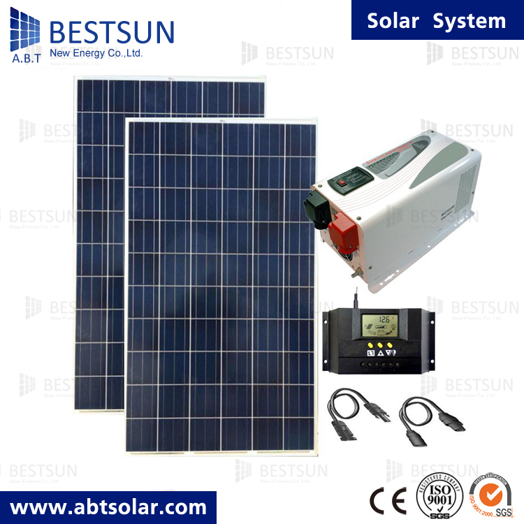 Solar Pv Systems Backup Power Ups Systems: 2000w 5000w Solar Panels Photovoltaic Solar Ups System