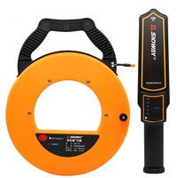 SNDWAY 20 40m Pipe Scanner Thickness Gauge Pipeline Blockage Blocking Clogging Finder Plumbers Width Measure Instrument|Level Measuring Instruments| |  -