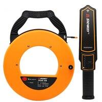 SNDWAY 20 40m Pipe Scanner Thickness Gauge Pipeline Blockage Blocking Clogging Finder Plumbers Width Measure Instrument