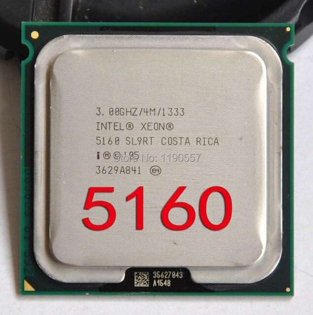 intel xeon 5160 processor30ghz 4mb l2 dual corefsb