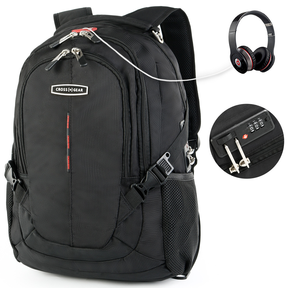 swiss 15.6 inch anti theft tsa lock laptop backpacks men women waterproof Business backpacks School bags Mochila Masculina baijiawei men and women laptop backpack mochila masculina 15 inch backpacks luggage