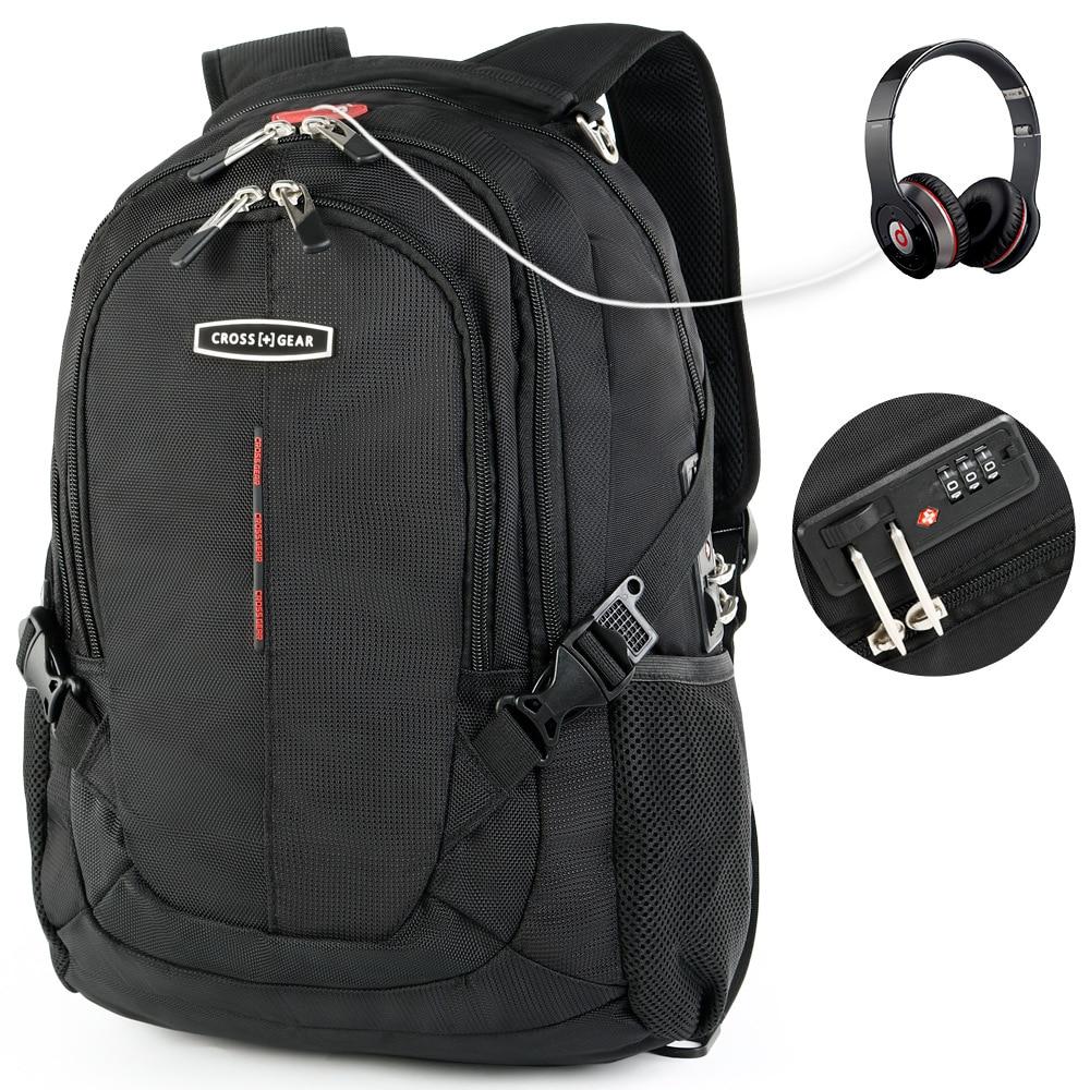 swiss 15.6 inch anti theft tsa lock laptop backpacks men women waterproof Business backpacks School bags Mochila Masculina 2017 new men and women laptop backpack mochila masculina 15 inch backpacks luggage