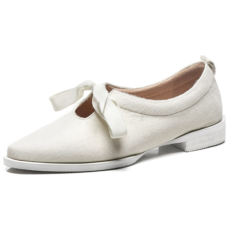 FEDONAS Marke Frauen Polka Dot Rosshaar Qualität Pumpen Dicken High Heels Bowtie Party Tanzen Schuhe Frau Neue Frühjahr Grund Pumpen-in Damenpumps aus Schuhe bei  Gruppe 2