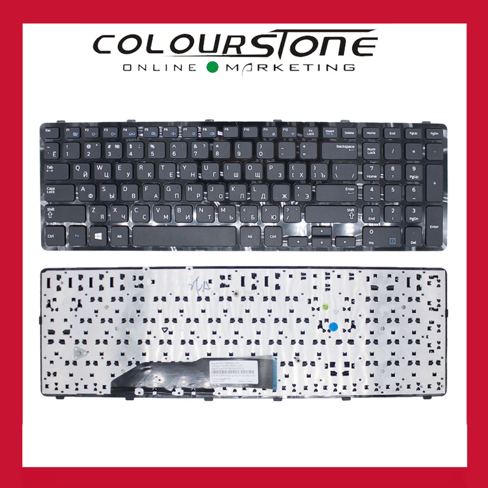 RU keyboard For Samsung NP355E7C NP350E7C 355E7C 350E7C Laptop keyboard BA59-03303C PK130RW1A02 V134302BS1 new laptop keyboard for samsung np700z5a 700z5a np700z5b 700z5b np700z5c 700z5c ru russian layout