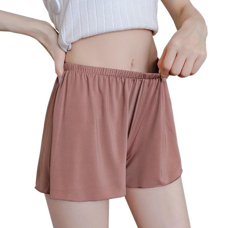 VISNXGI Women Soft   Shorts   Spandex Seamless   Short   Pants Summer Under Skirt   Shorts   Modal Breathable   Short   Plus L-XXXL Size Hot