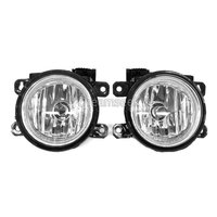 DRL Lamp For Honda Civic 2016 2017 Pair Car Front Fog Bumper Light Clear Lens Replacement With Bulb Headlights for Car